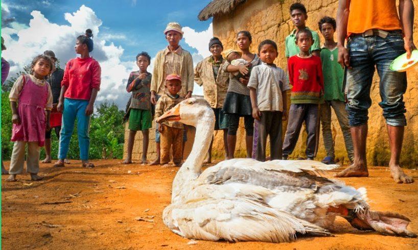 1 Goose/25 People!!! Food of Madagascar!!!