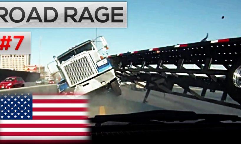 ROAD RAGE IN AMERICA 2016 || North American Сar ROAD RAGE & USA Car Crashes on dash camera #7