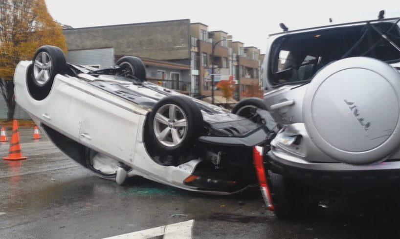 Idiot Drivers - Road Rage and Car Fails 2018 November #883