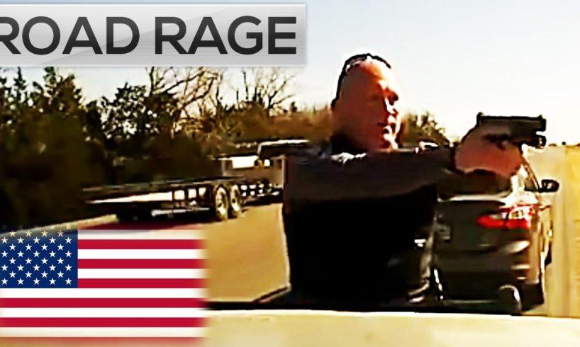 ROAD RAGE IN AMERICA 2016    North American Сar ROAD RAGE & USA Car Crashes on dash camera #5