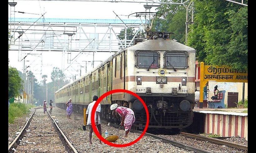 Almost Hit By Train - Near Death Train Escapes 2019