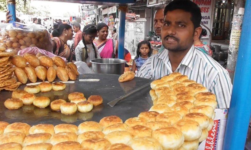 Aloo Tikki Chaat / Kachori Chaat @ 20 rs - Street Food Lucknow