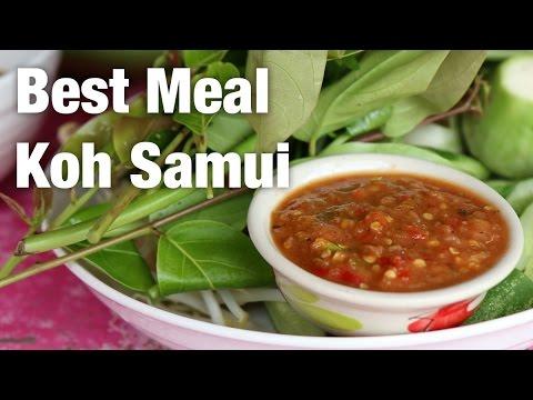 Amazing Local Thai Food in Koh Samui