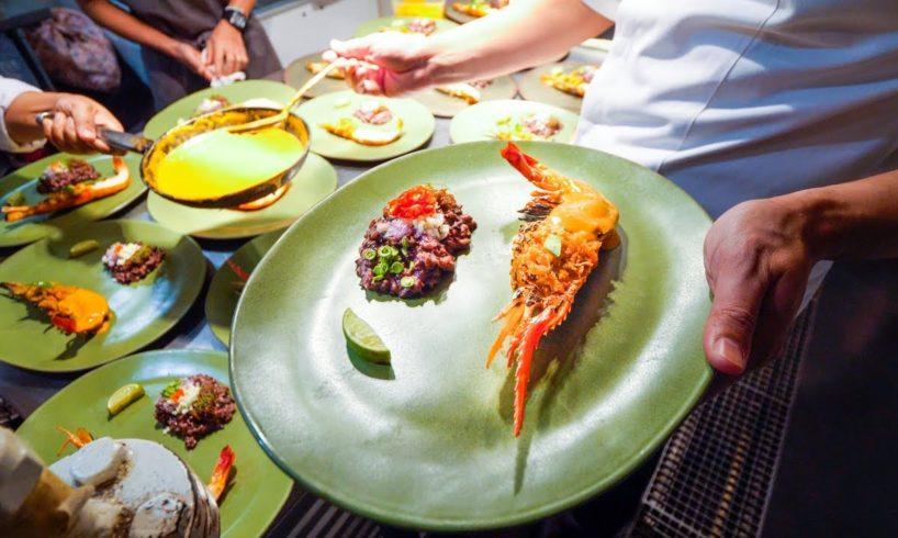 Amazing Michelin Star THAI FOOD at Le Du   Asia's 50 Best Restaurants