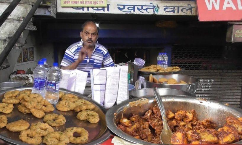 Baba Khasta Wale - Cheap & Best Breakfast - Per Piece 12 rs - Street Food Lucknow