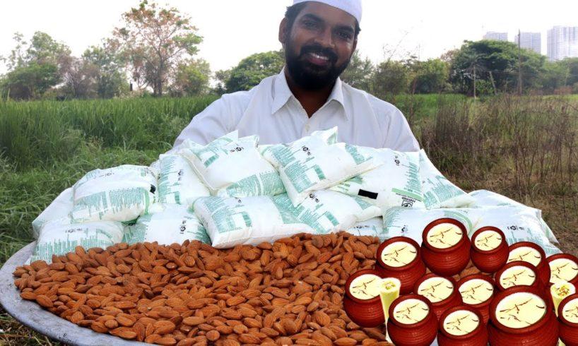 Badam milk recipe | almond milk recipe | badam doodh recipe| Nawabs kitchen