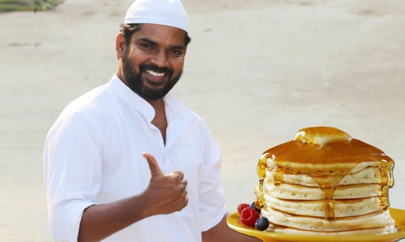 Banana Pancake  Snacks Recipe For Kids  Nawabs kitchen  