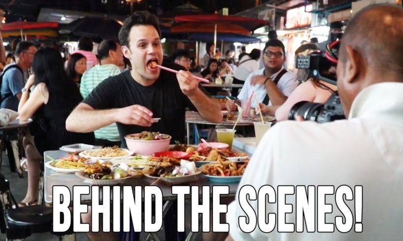 Behind The Scenes Foodrangin' in Penang!