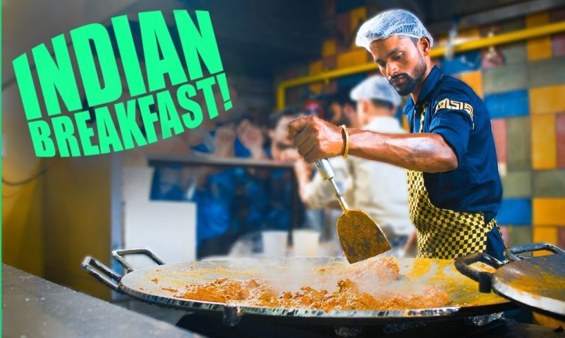 Best Breakfast in Delhi, India! STUPID Good Indian Street Food Tour in Old Delhi (and New Delhi)