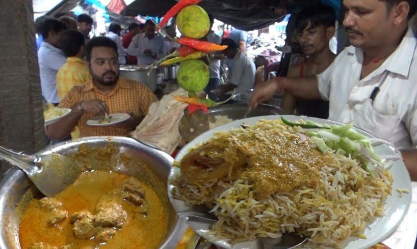 Best Chicken & Mutton Dum Biryani on Kolkata Street (with Egg ) | Price Starting @ 70 rs Per Plate