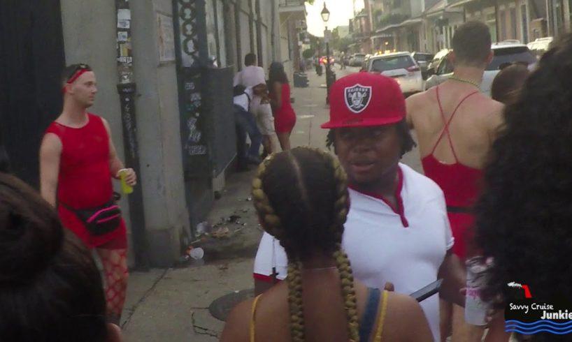 Bloody Bourbon St Fight Video (No Cops)