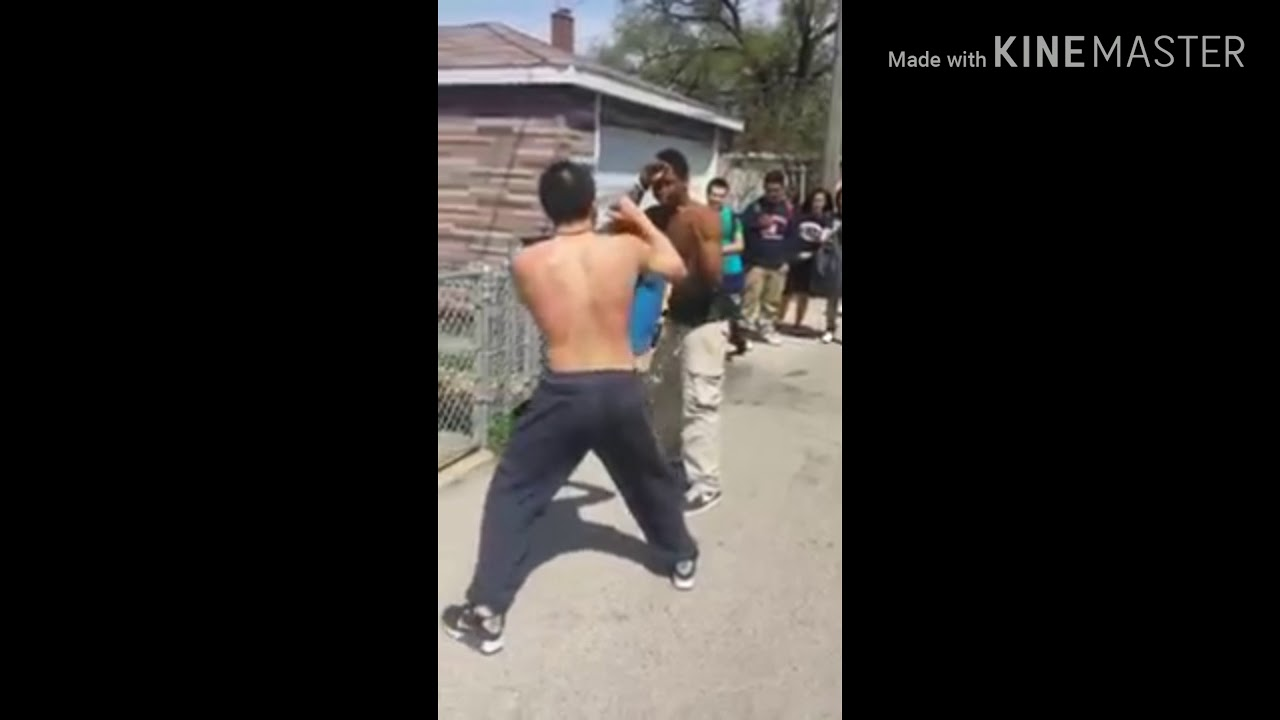 CRAZY GHETTO HOOD FIGHT KNOCKOUT😱😱😱