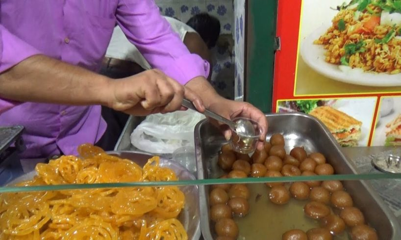 Chennai Busy Fast Food Center - Panipuri /Samosa /Kachori / Jilebi - Street Food Chennai