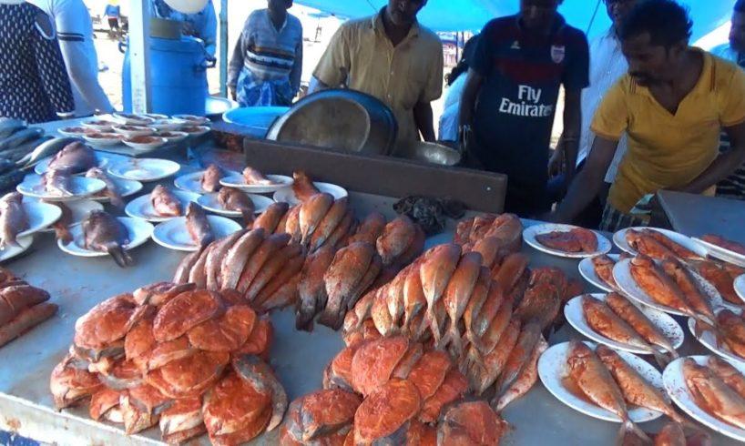 Chennai Marina Beach Fish Fry  - Street Food Loves You