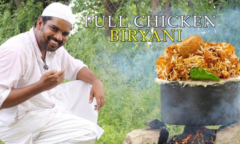 Chicken Biryani | 4 full chickens For kids by Moin Bhai|| Hyderabadi biryani||