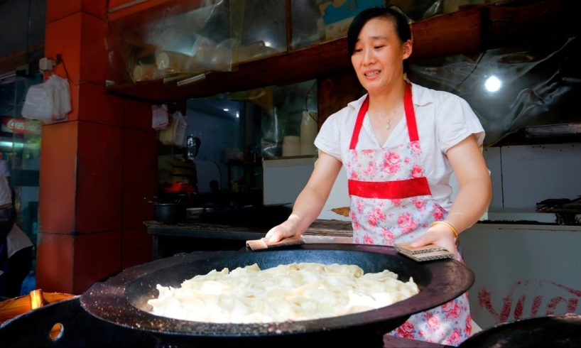 Chinese Street Food Tour in Hangzhou, China | BEST Potstickers in China!