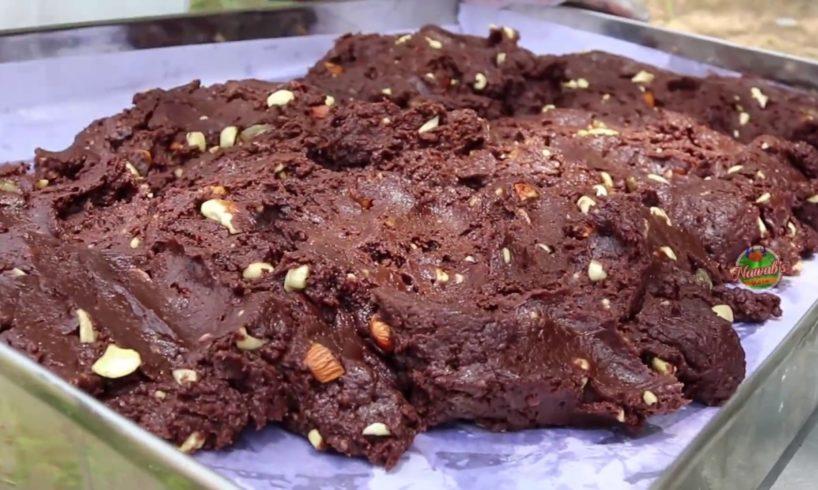 Chocolate Burfi    for orphans   Easy Chocolate Fudge   Nawabs kitchen