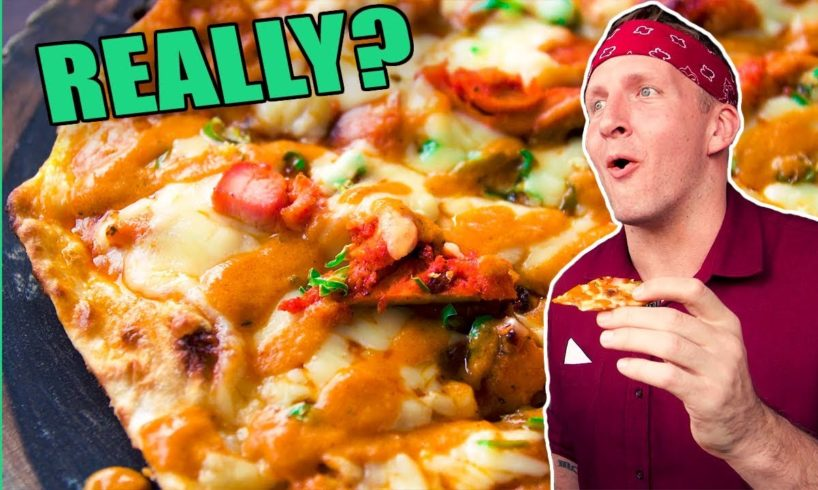 Deadly Indian Pizza in New Delhi, India! Plus the CRAZIEST Pizzas around Asia!