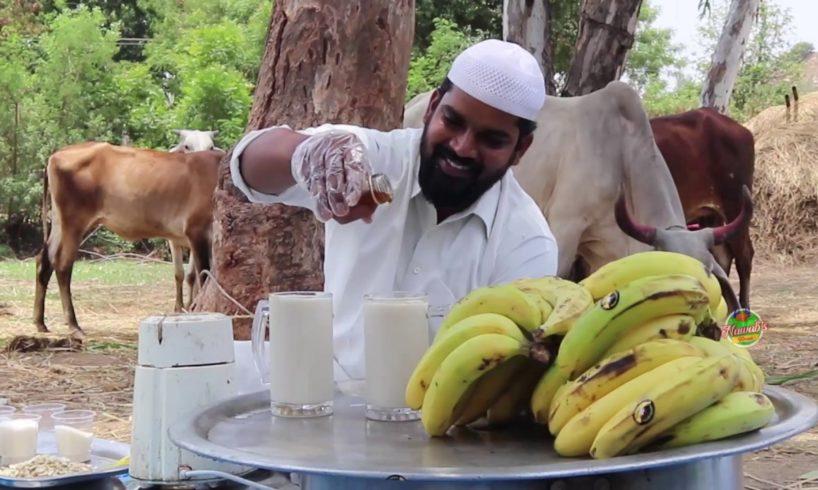 Delicious Banana Milkshake   Oldage Home   Nawabs kitchen