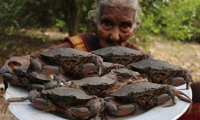 Delicious River Crabs Roast By 106 Mastanamma |Country foods|