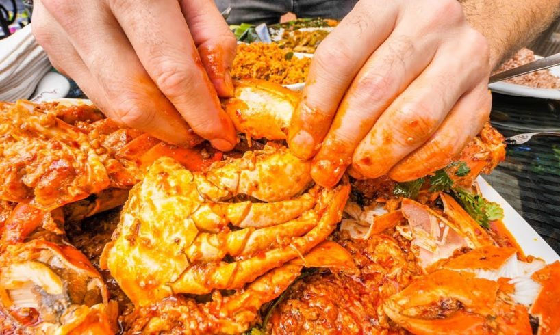 EXTREMELY SATISFYING Crab Tour of Sri Lanka - GIANT Crab Claw LOLLIPOPS + BEST Seafood in Sri Lanka!