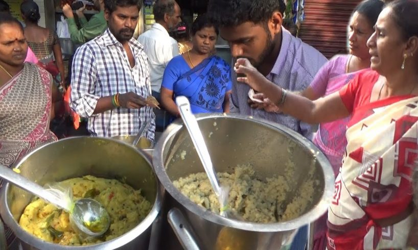 Early Morning Crazy Breakfast in Chennai   Tiffins Start Only 10 rs   Street Food Tamil Nadu
