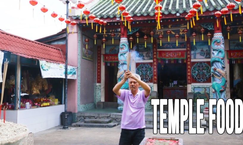 Eating At A Remote Temple Outside of Penang, Malaysia | Malaysian Food Treasures