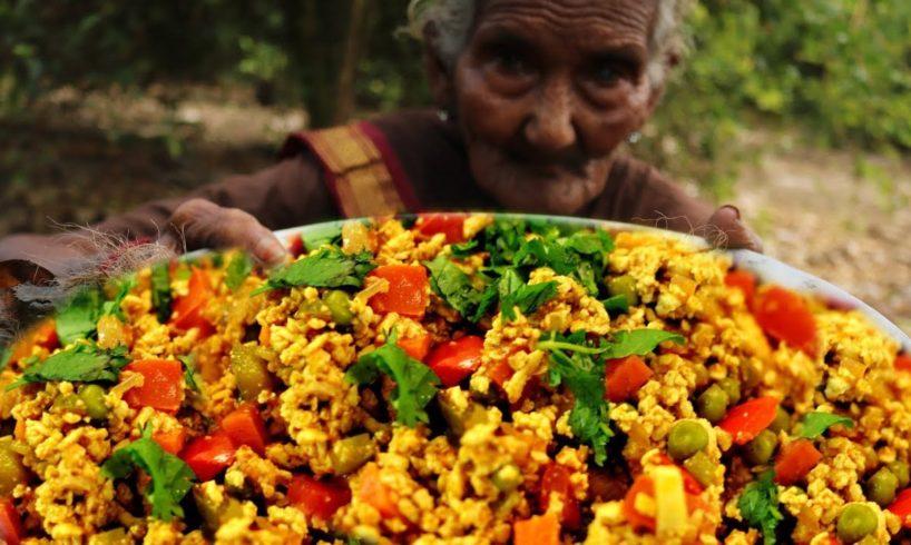 Egg Bhurji Recipe-Masala Egg Bhurji-Dhaba Style Egg Bhurji by 106 Granny