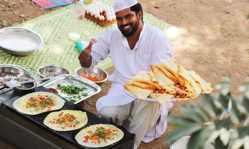 Egg Dosa Recipe ||For homeless angels|| Nawab's Kitchen