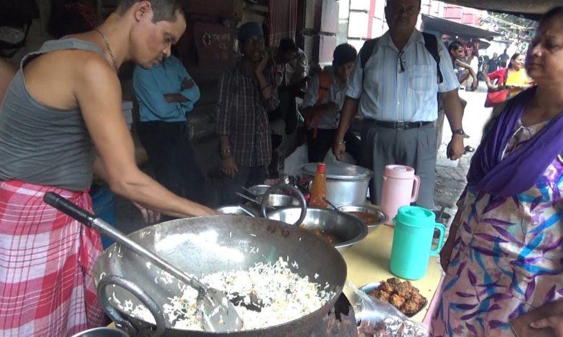 Egg Rice Besides India Post Dalhousie Kolkata | Indian Street Food