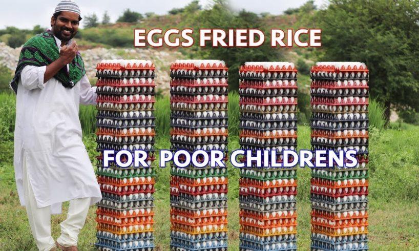 Egg fried rice|| for poor children || yummy egg fried rice||