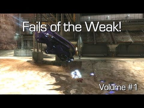 Fails of the Weak: Ep. 01 - Funny Halo 4 Bloopers and Screw Ups! | Rooster Teeth