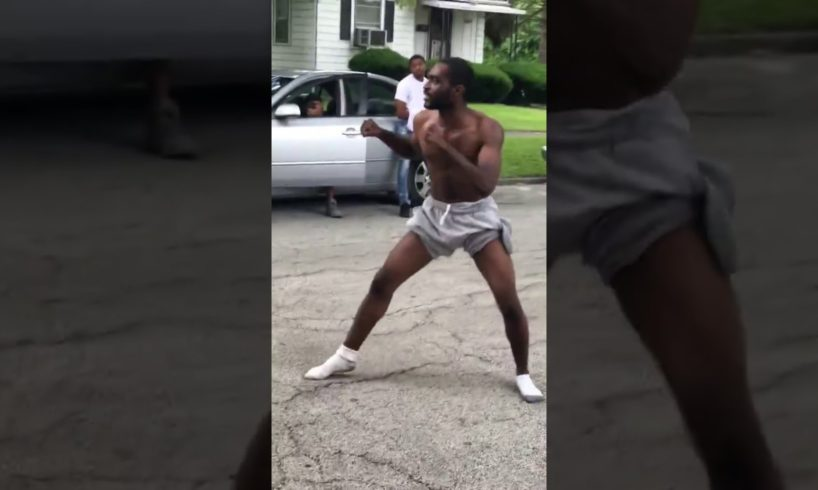Fight in the hood over Socks