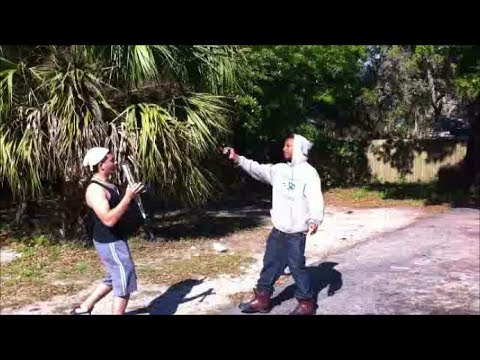 Fight me Prank in the hood gone wrong