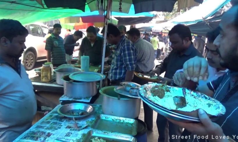 Fish & Veg Curry Finished So People making lunch with Rice & Egg Fish Curry | Amazing Street Food