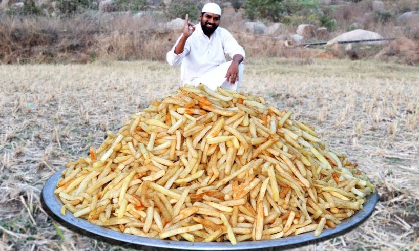French Fries Recipe   Crispy French Fries Recipe for orphan kids   Nawabs kitchen