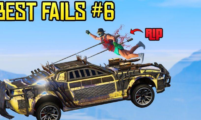 GTA Online Best FAILS of the Week #6 (Top Fails)