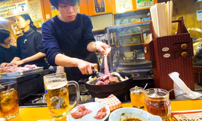 Genghis Khan BBQ - MUST EAT Japanese Food in Hokkaido, Japan!