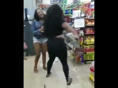 Girl Fight In The Hood