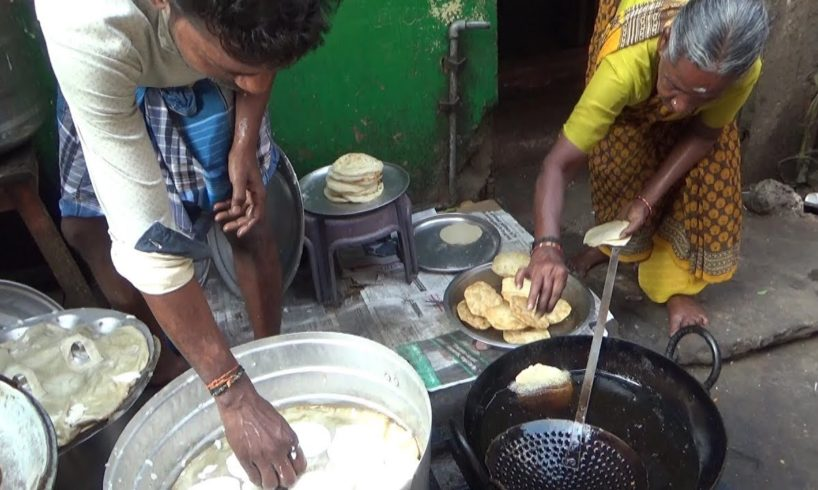 Grandma & Her Sons Selling South Indian Food | Street Food Loves You
