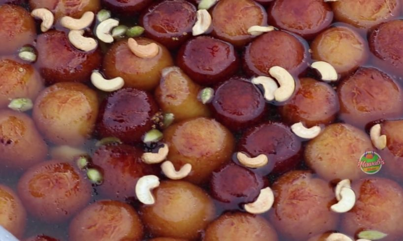 Gulab Jamun recipe for poor childrens || Nawab's Kitchen