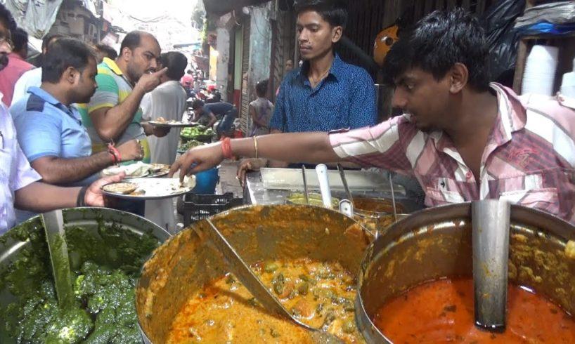 Half Veg Curry 2 Roti @ 28 rs | Half Sabji Half Rice @ 40 rs | Borobazar Kolkata Street Food