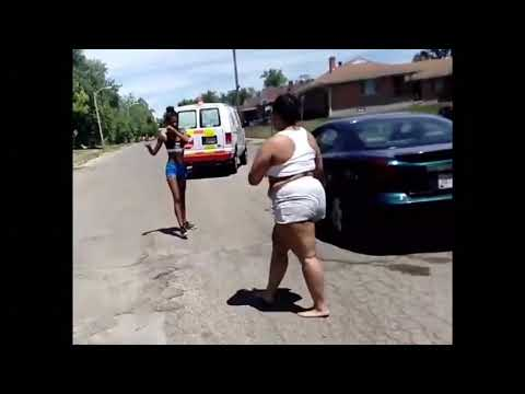 Hood fights (Girl fight) New)Laurel MS Hood Fights Crazy 2018