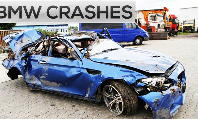 IDIOT BMW DRIVERS! Road Rage and Car Crashes 2016, Bad drivers compilation on dashcam