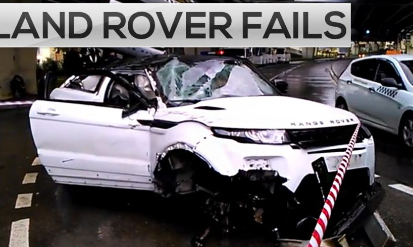 IDIOT LAND ROVER DRIVERS, CRAZY LAND ROVER DRIVING FAILS & ROAD RAGE 2017