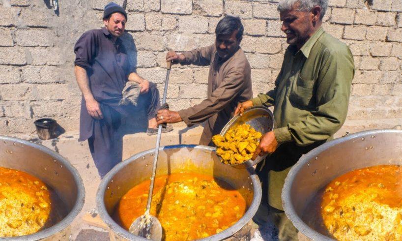 INSANE Pakistani Food VILLAGE WEDDING! - 4000 PEOPLE ULTRA RARE + BREAKFAST Street Food in Pakistan