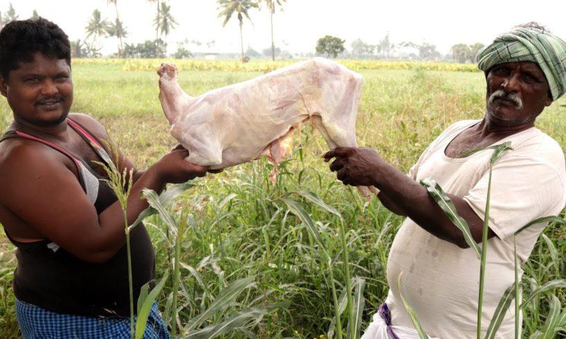 King Of Full Mutton Biryani | Whole Lamb Biryani | Traditional Mutton Biryani By Our Country Grandpa