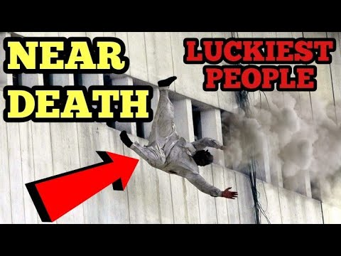 Luckiest people in the world near death compilation