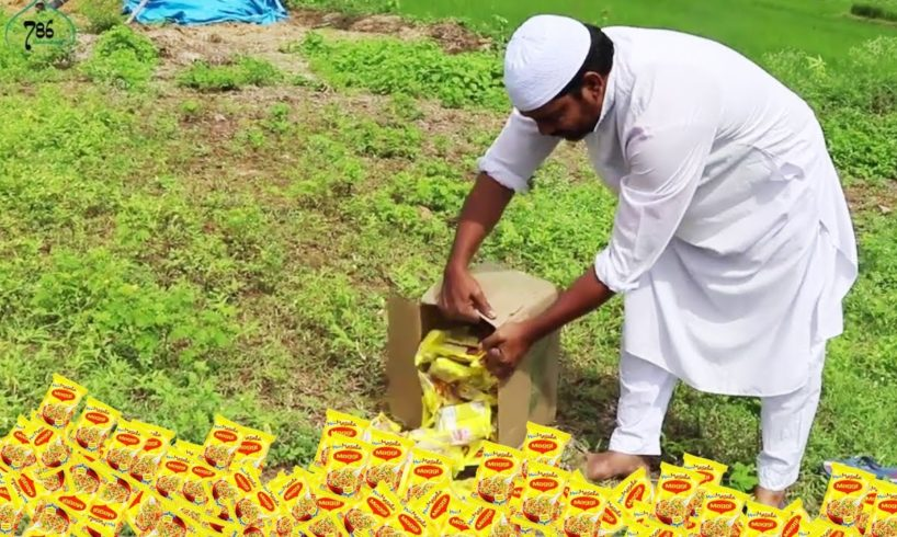 Maggi Noodles| Maggi Noodles Donating to Disabled People