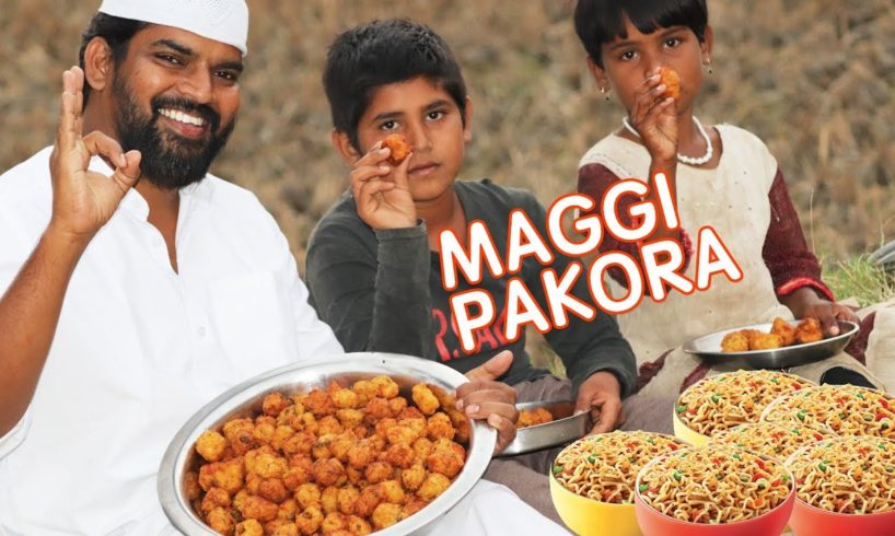 Maggi pakora For Hungry Kids By Moin Bhai |Nawabs Kitchen|